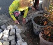 花壇作り 2